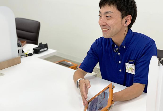安藤昭慶さん(2015年8月中途入社)